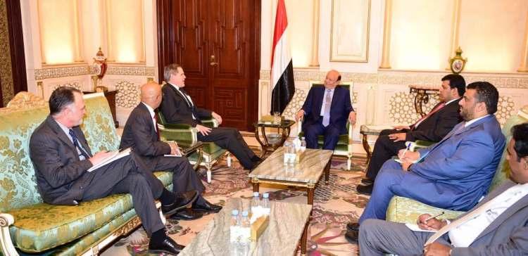 President Hadi receives US ambassador
