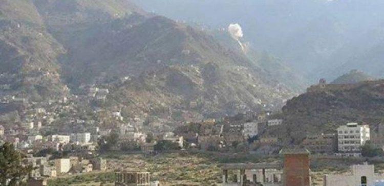Coalition aircraft bomb militias in Taiz, landmines kill and wound five civilians