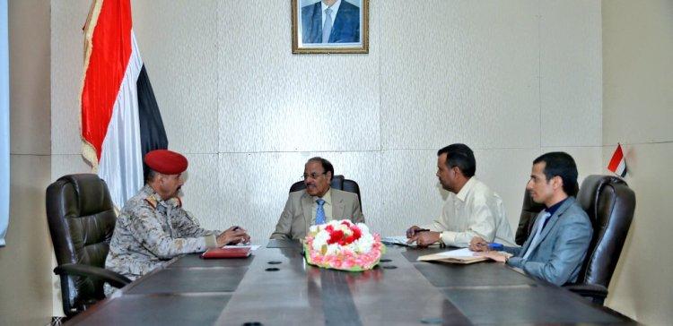 Commander of Third Military Region updates VP on developments