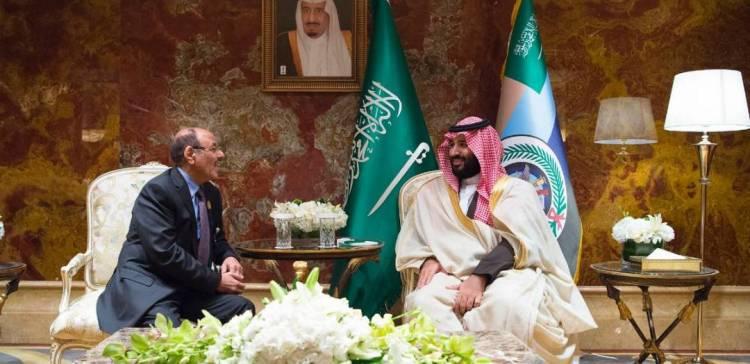 VP meets with KSA Crown Prince