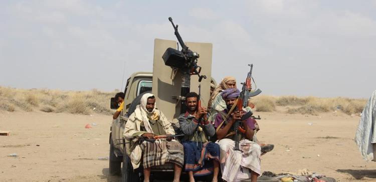 Hodiedah,,, National Army advances in Al-Jarahi, coalition airstrikes bombard militias