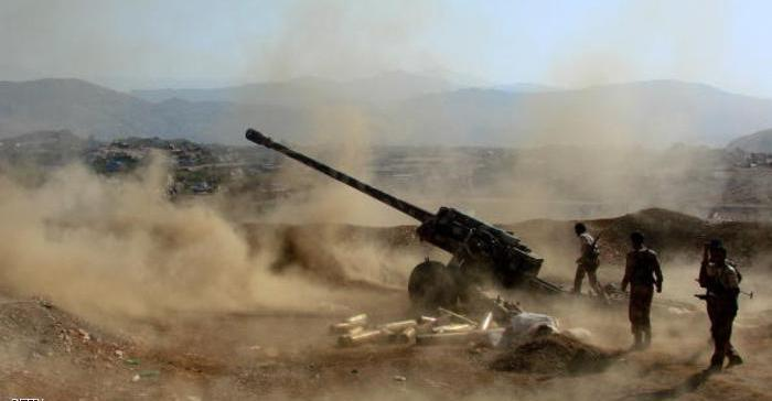Saada,,, Army forces push out Houthi militia of new areas