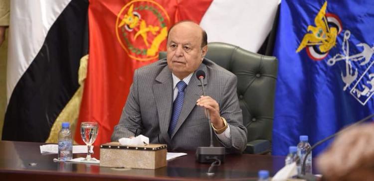 President Hadi presides over preliminary meeting of senior commanders of Ministry of Defense