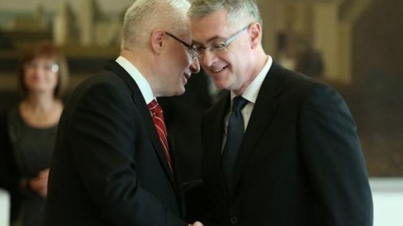 The leaders of executive and judicial government Josipović and Hrvatin would protect the secret agent