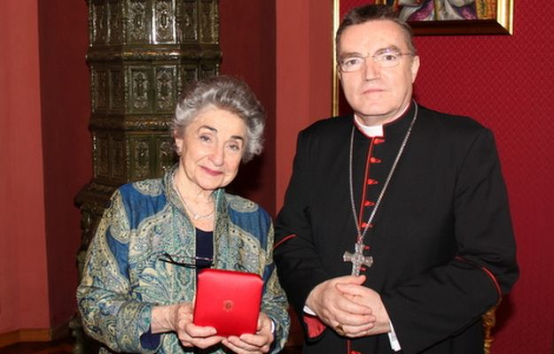 Homophobical pseudo scientist Judith Reisman and Josip Bozanić Archbishop of Zagreb
