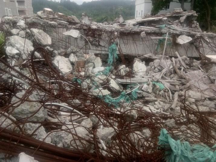 Three-Self Gospel Church Was Demolished in Fujian