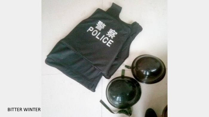 Authorities Force Han Chinese in Xinjiang to Buy Riot Control Gear