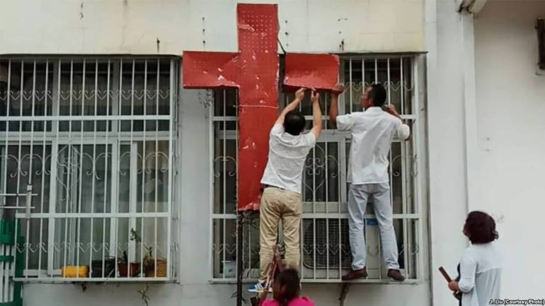 Crackdown on Christian Churches Intensifies in China