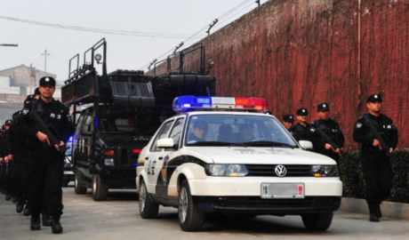 police-are-on-patrol-outside-a-provincial-prison