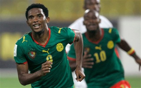 Image result for Ex Cameroon Captain Eto'o