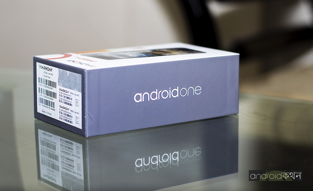 symphony roar a50 android one box