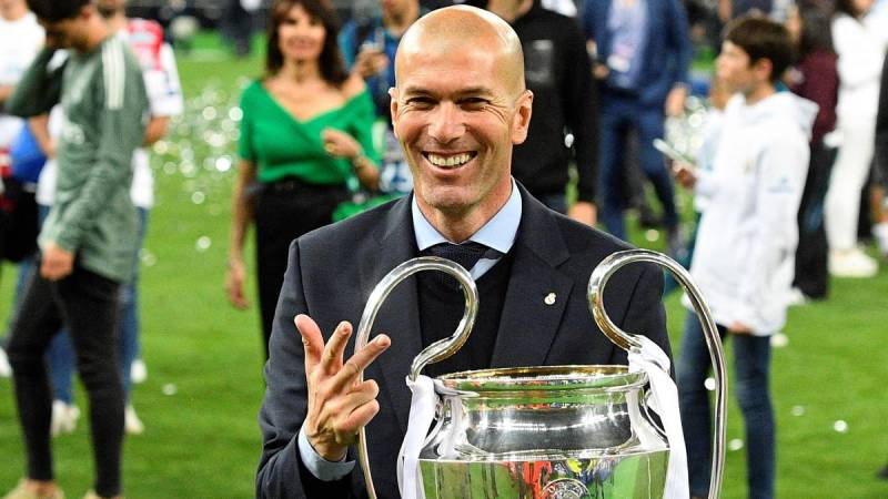 Image result for zidane madrid
