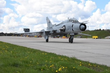 Polish Air Force SU-22 Fitter C