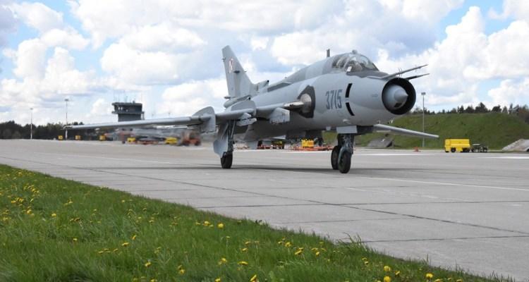Polish Air Force SU-22 Fitter C