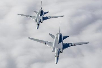 Strategic bombers Tu-22M3 Russian Air Force