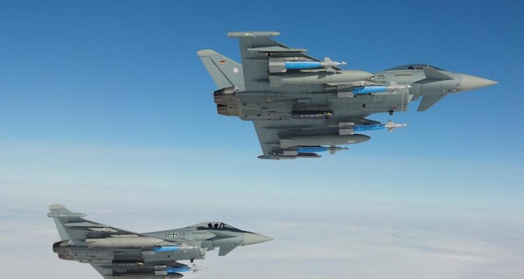 German Eurofighters WTD61