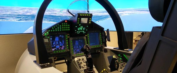 Indra flight Simulator Eurofighter