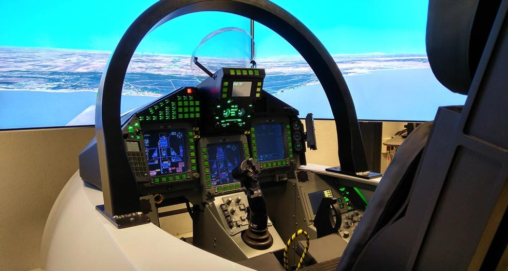 New version of Eurofighter flight simulator for Spain and