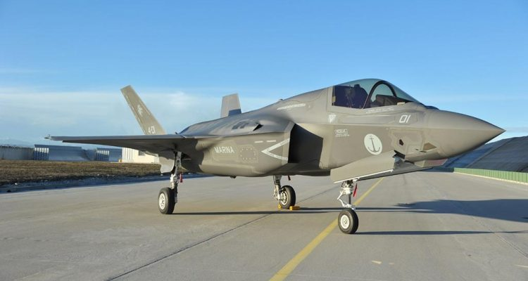 Italian first F-35B