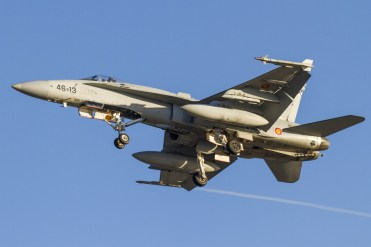 EF-18 Hornet Spaniah Air Force