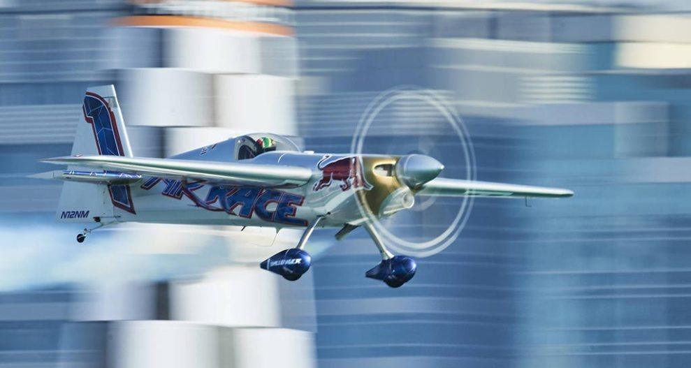The results of the first race of the Red Bull Air Race 2018