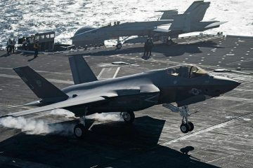 US Navy F-35C carrier qualification USS Abraham Lincoln