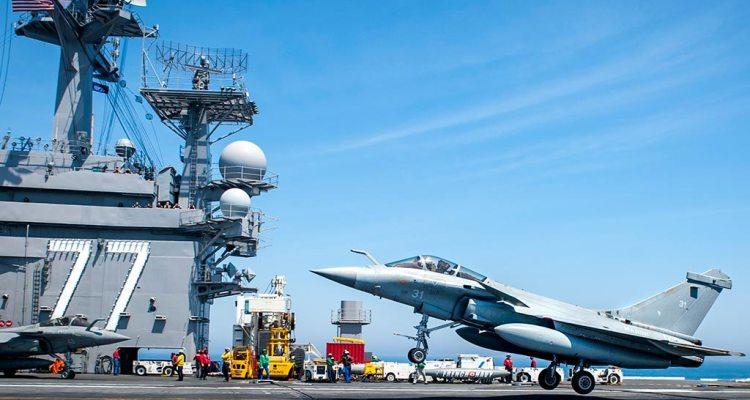 US, French combined exercise Chesapeake 2018