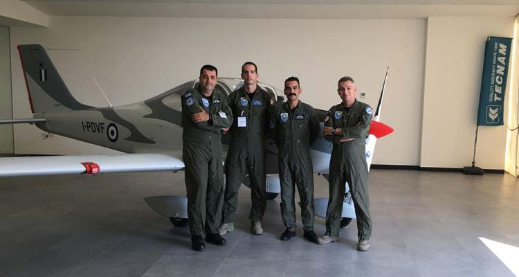 Tecnam-P2002JF delivery to hellenic air force
