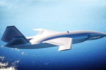 "Boeing unmanned combat drone ""Loyal Wingman"""