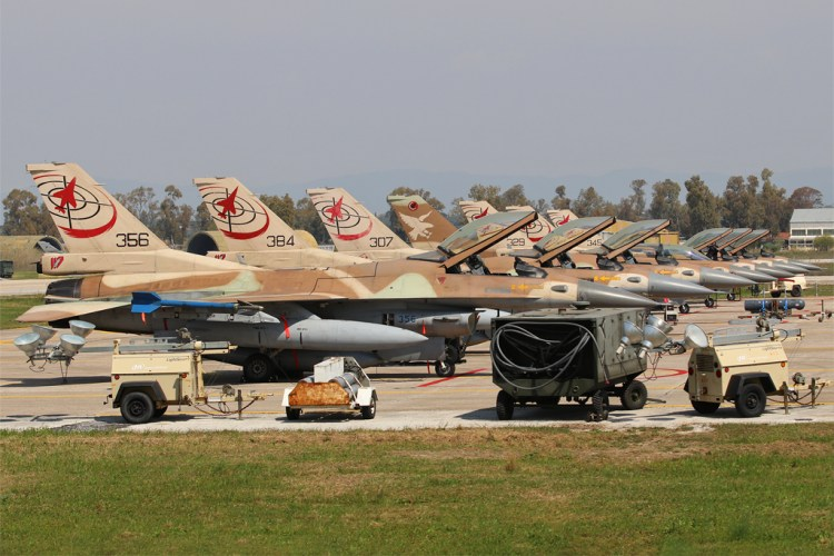 Israeli Air Force F-16 Fightning Falcon