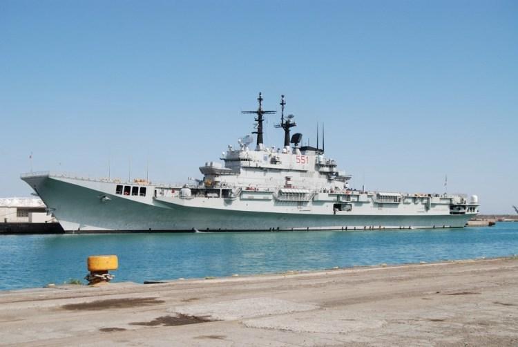 Italian Navy Garibaldi aircraft carrier