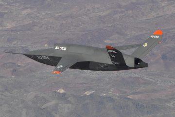 XQ-58A Valkyrie UAV demonstrator
