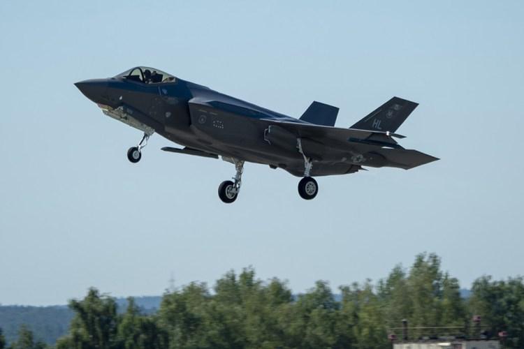 USAF F-35A Rapid Reforge 2019