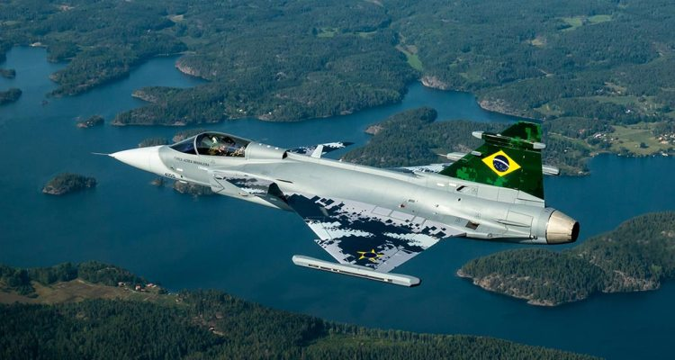 first brazilian saab gripen e