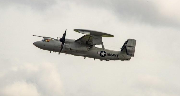 US Navy E-2D Advanced Hawkeye