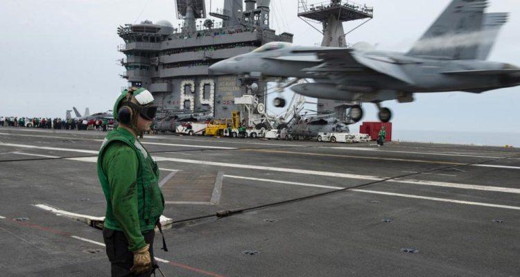 USS Eisenhower aircraft carrier