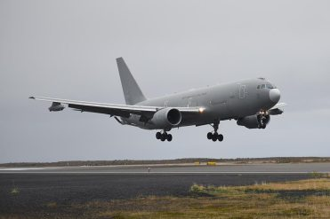 Iceland Northern Lightning ItAF KC-767