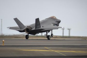 Iceland Northern Lightning ItAF F-35A
