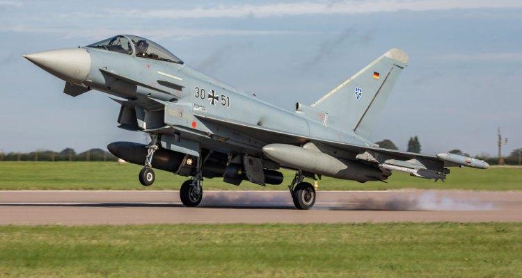 Exercise Cobra Warrior 2019 Eurofighter Luftwaffe