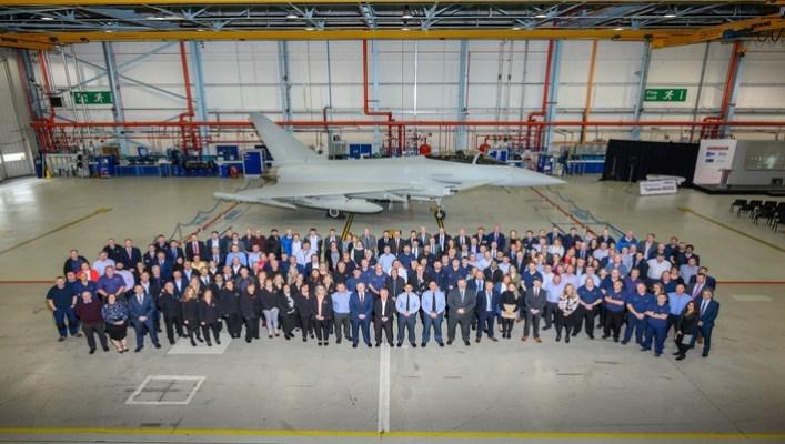 RAF last delivered Typhoon