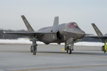 Vermont Air National Guard 158th Fighter Wing F-35A