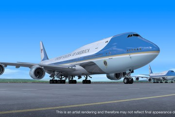 USA VC25B Air Force One