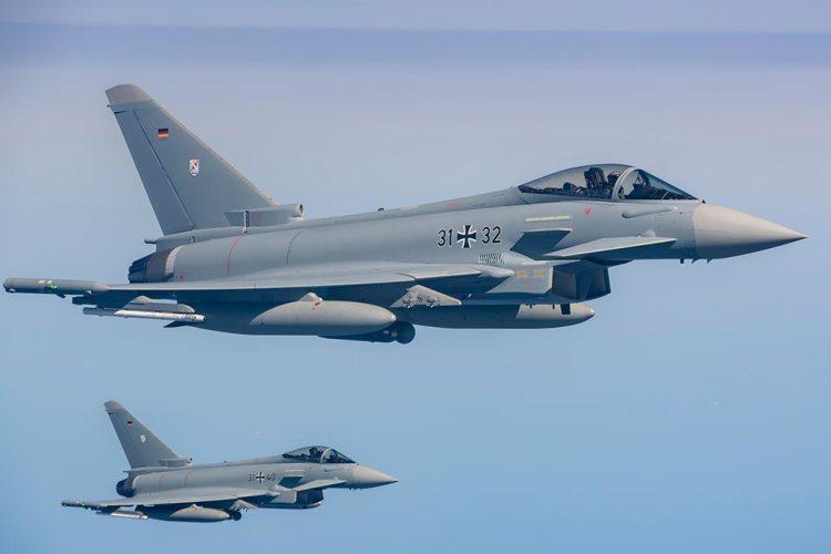 German Luftwaffe Eurofighter Typhoon