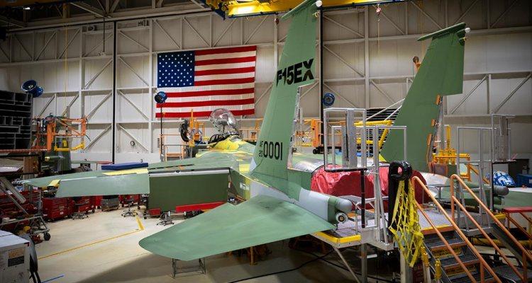 USAF F-15EX Advanced Eagle