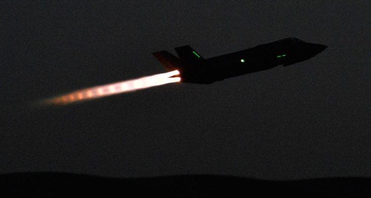 us hill afb f35 night operations