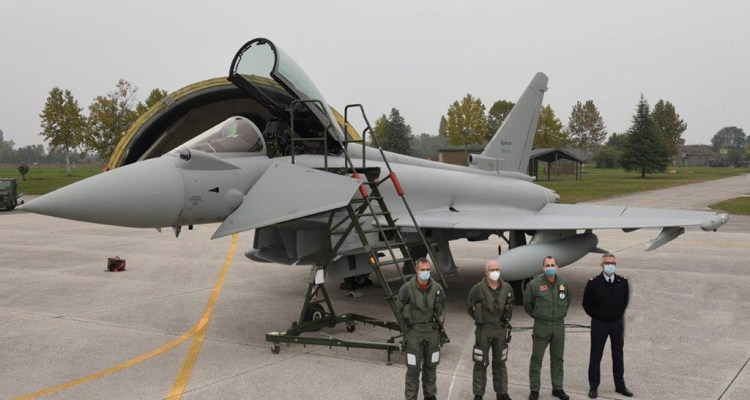 Italian Air Force last Eurofigher