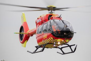 Norwegian Air Ambulance Airbus H145 five blades