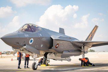 F-35I Adir test jet