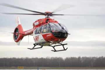 DRF Luftrettung five-blades Airbus H145 helicopters