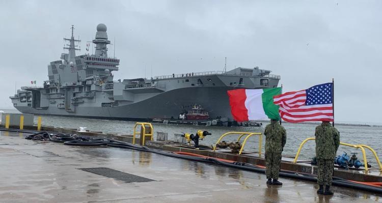 italian aircraft carrier cavour